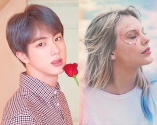 Taylor Swift Shows Her Love Appreciation Towards Bts Jin S