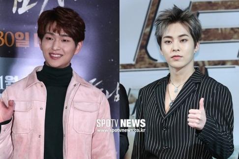 Xiumin, Onew, Yoon Ji Sung