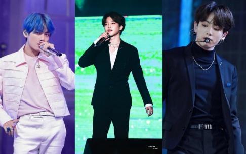 BTS, V, Jungkook, Jimin