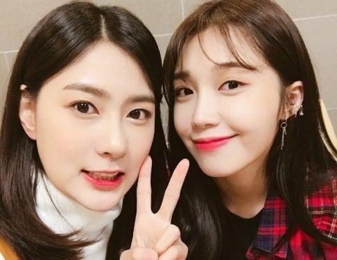 A Pink, Eunji, Hayoung