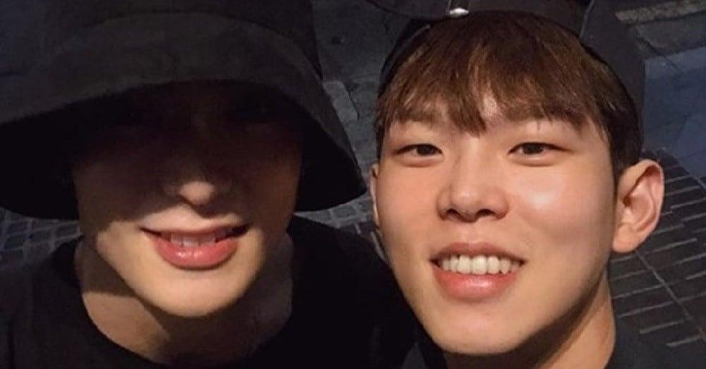 Paul Kim and NCT's Jaehyun hang out at night and wonder