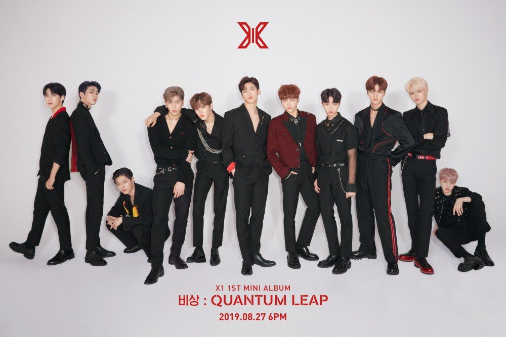 X1 tops Hanteo's weekly chart and leaps its way to a new record with 'Emergency: Quantum Leap' | allkpop