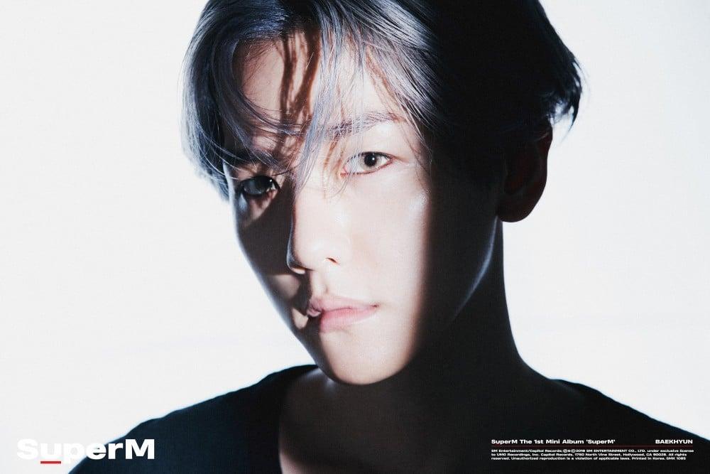 SuperM Reveals Concept Photos Of Baekhyun Ahead Of Debut