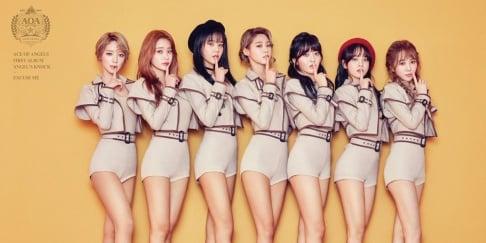 AOA, Seolhyun, Hyejeong, ChoA, Chanmi, Jimin, Youkyung, Mina, Yuna