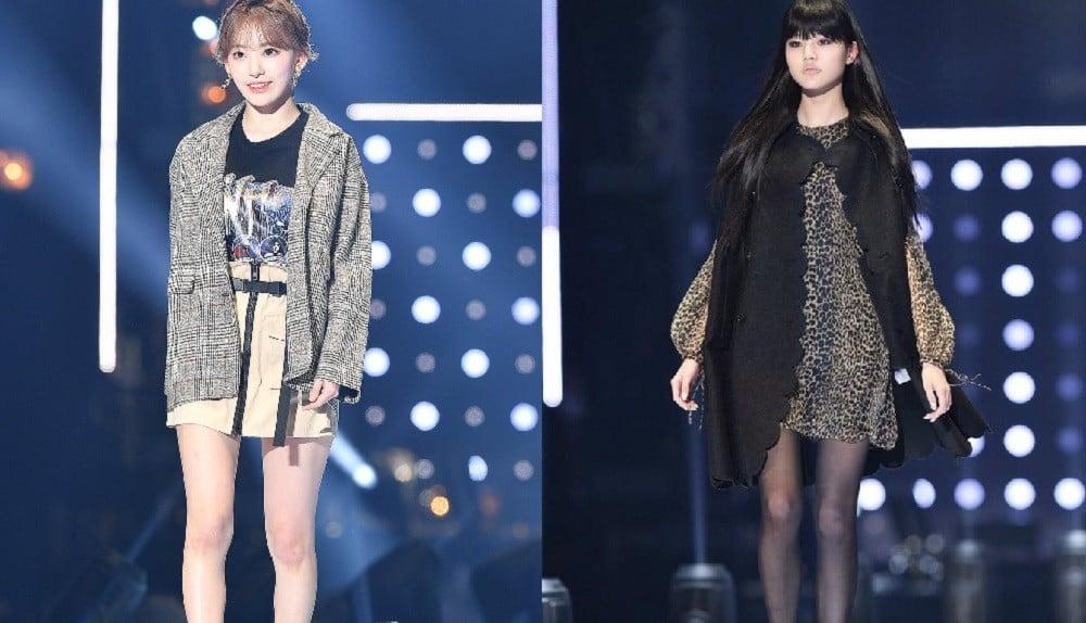 IZ*ONE's Sakura Miyawaki and Jang Won Young make their