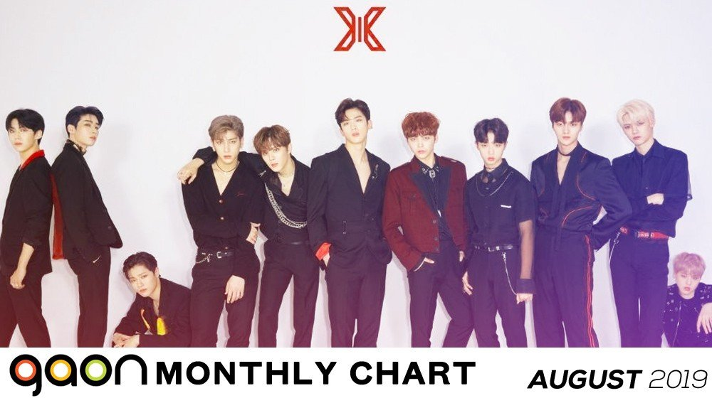 Gaon Chart releases chart rankings for the month of August 2019 | allkpop