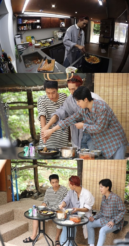 Song Min Ho reveals his lack of cooking skills while