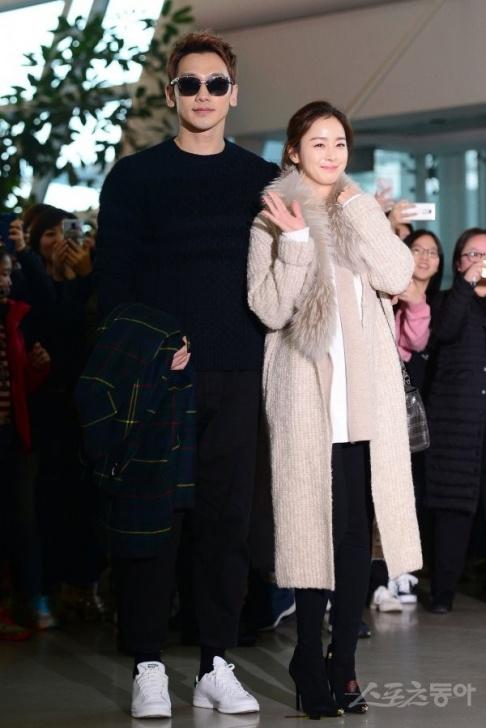 Kim Tae Hee, Rain