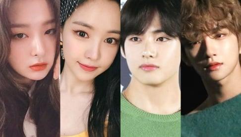 Na-Eun, V, Sung Yuri, Mina, Seulgi, Eugene, Joshua, Kim Do Yeon