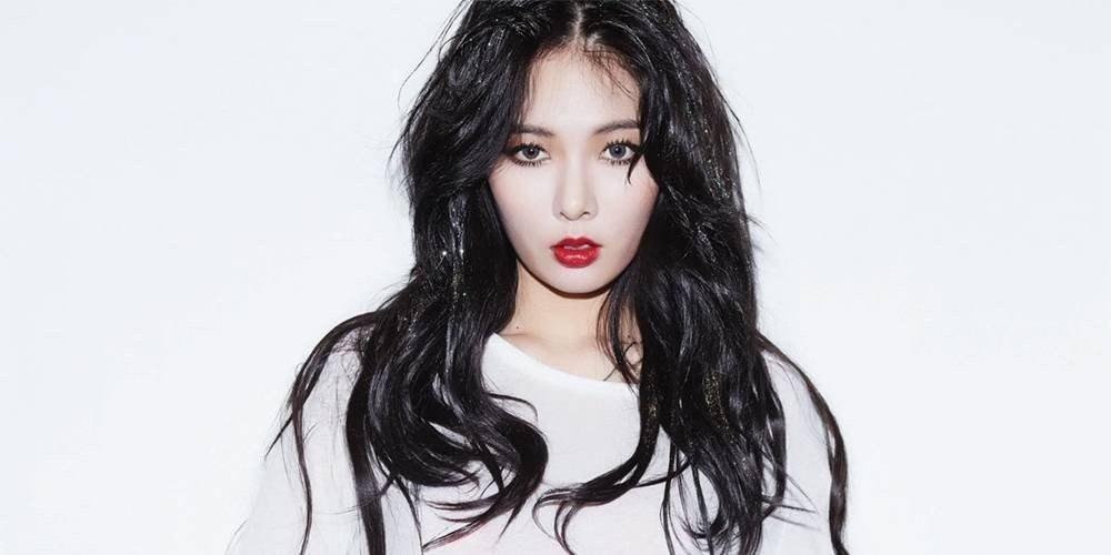 HyunA responds to controversy after lifting her skirt ... Hyuna 2019