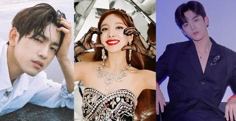 GOT7, Jinyoung, TWICE, Nayeon, X1, Kim Yo Han