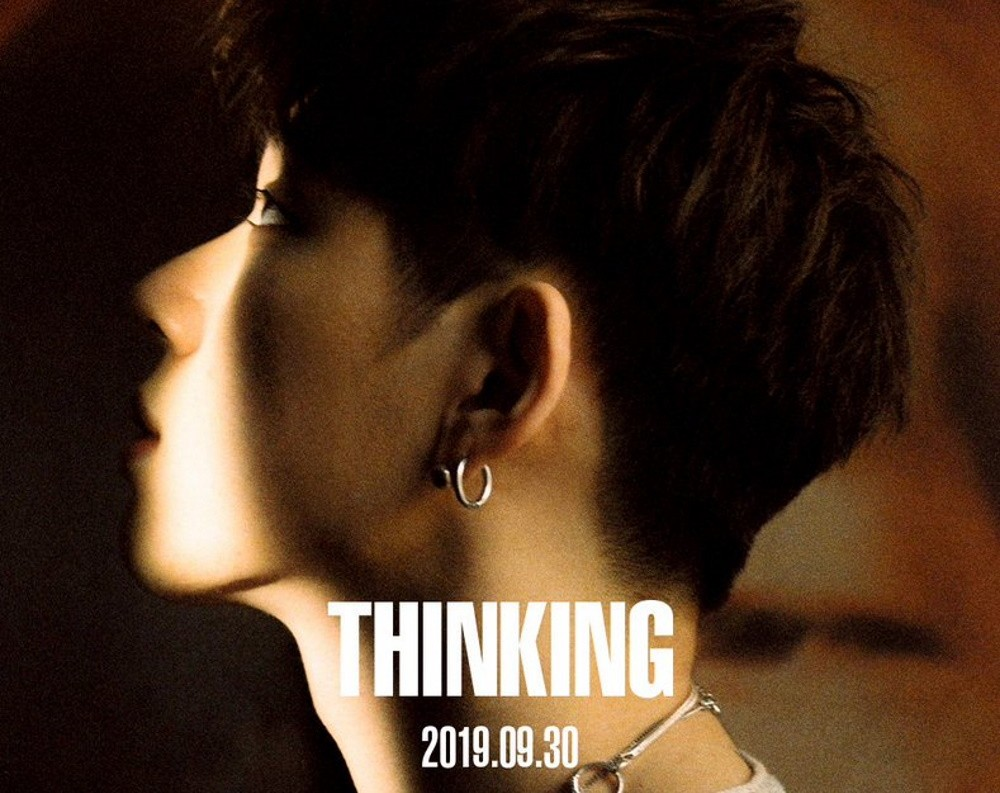 Zico stands in shadows in latest 'Thinking' teaser image | allkpop