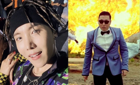 j-hope, Psy