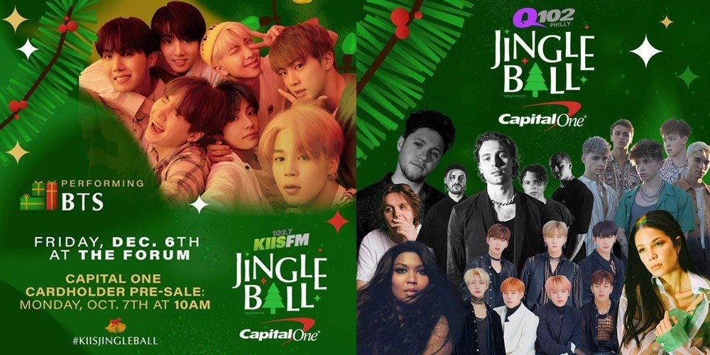 Iheartradio Christmas.Bts And Monsta X Officially Announced As Part Of The 2019