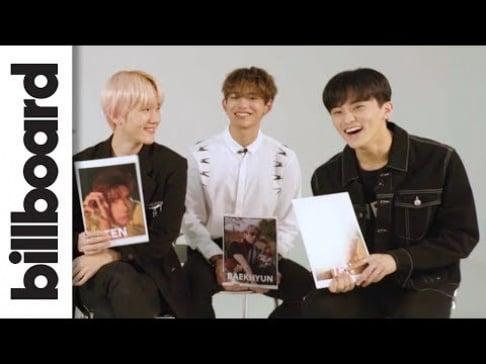 Baekhyun, Kai, Taemin, Taeyong, Mark, TEN, Lucas, SuperM