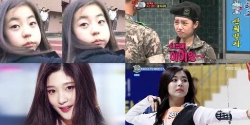 Na-Eun, Seolhyun, Seunghee, Jung Chae Yeon, Hyerin, Lee Hyori, Taeyeon, YoonA, Hara, Seungyeon, Kim Chung Ha, Suzy, Irene, Sohee, Sana, Tzuyu