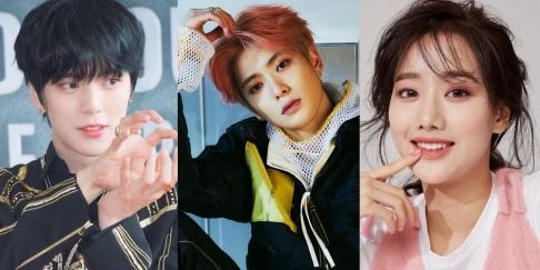 Naeun, Minhyuk, Mingyu, Jaehyun