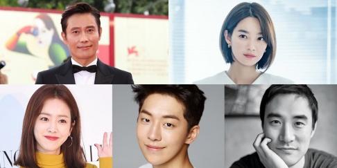 Han Ji Min, Lee Byung Hun, Nam Joo Hyuk, Shin Min Ah