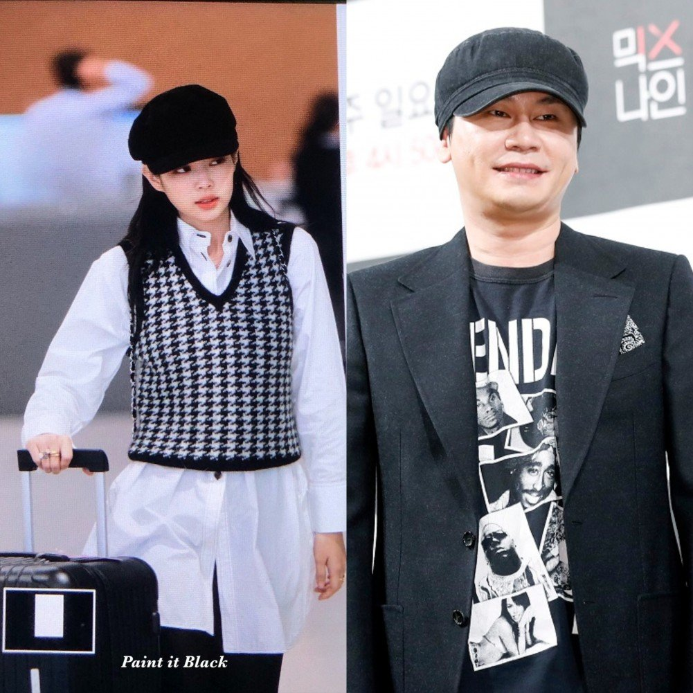 BLACKPINK's Jennie rocks a chic Chanel look + netizens notice that her hat is similar to Yang Hyun Suk's | allkpop