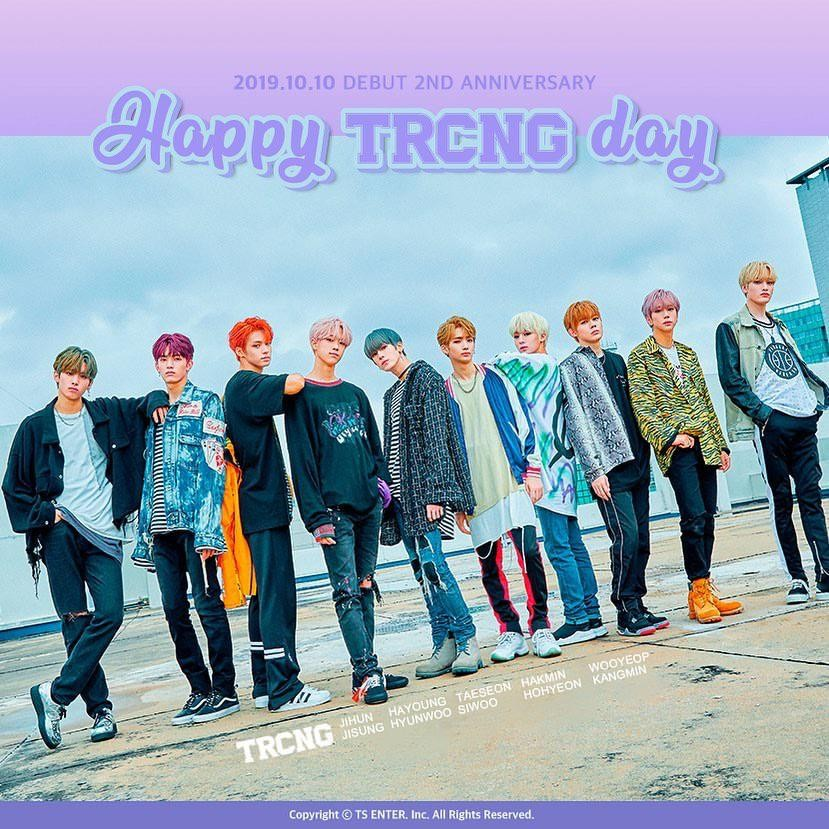TRCNG celebrates their 2nd anniversary | allkpop