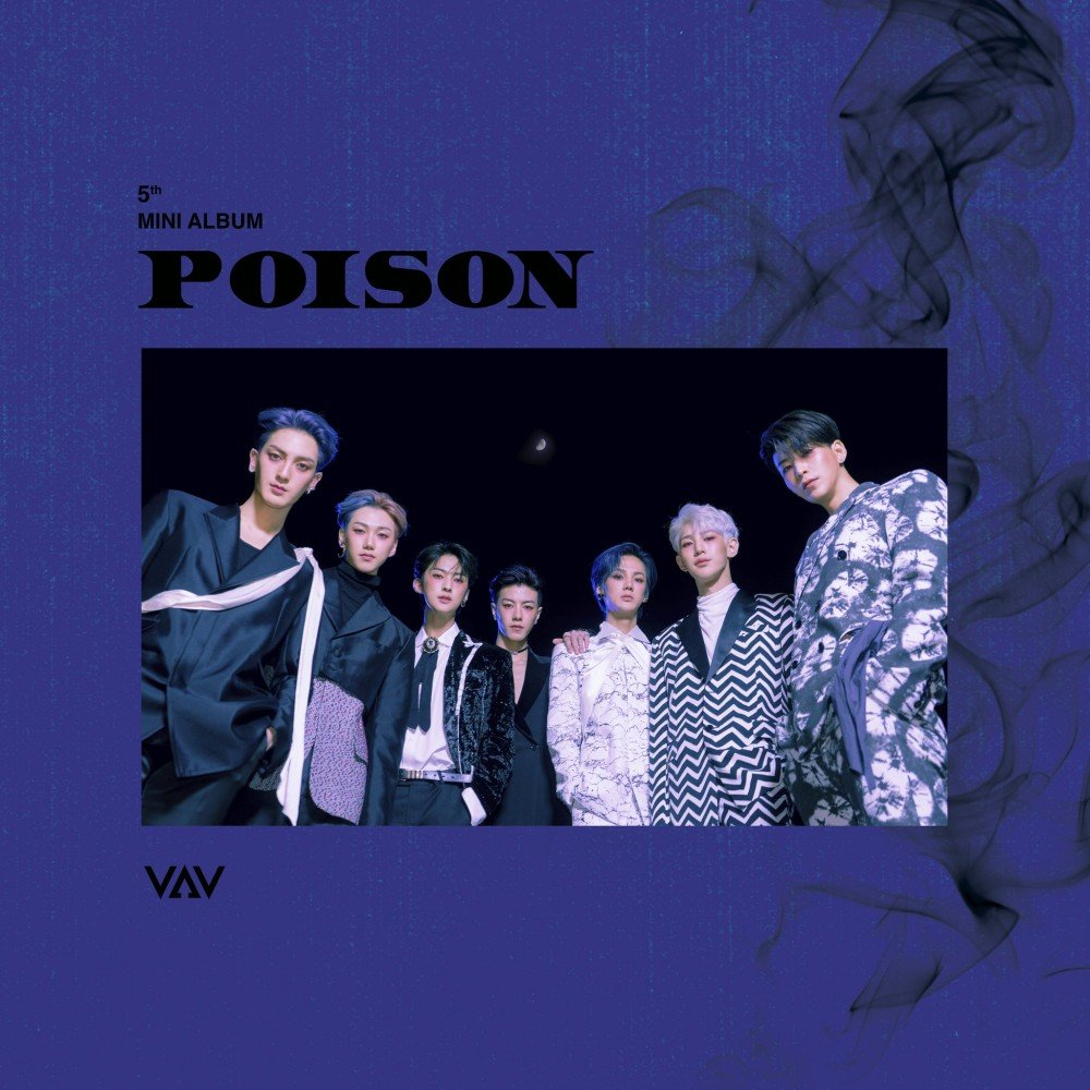VAV releases album cover and tracklist ahead of release for 'Poison' | allkpop