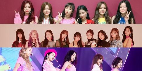 (G)I-DLE, Red Velvet, TWICE