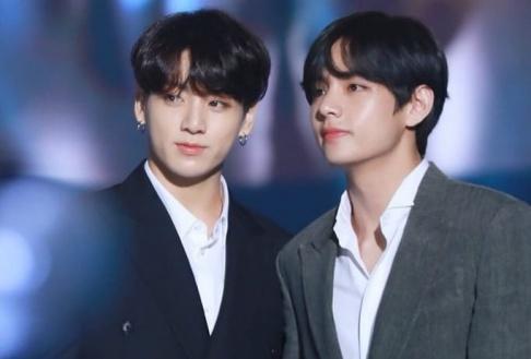 BTS, V, Jungkook