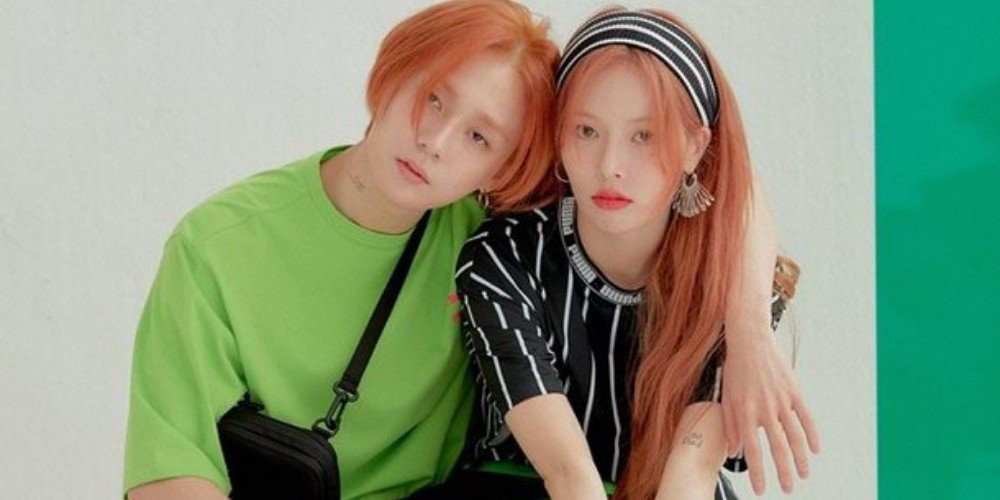 Psy reveals the playful rivalry between P NATION couple HyunA and E'Dawn | allkpop