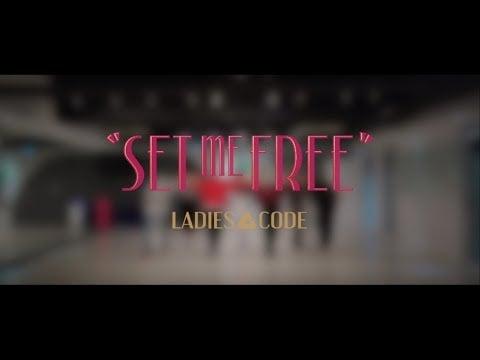Ladies' Code reveal dance practice video for 'Set Me Free'   allkpop