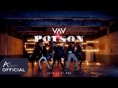 VAV stuns with a sophisticated horror concept in second MV teaser for 'Poison'   allkpop
