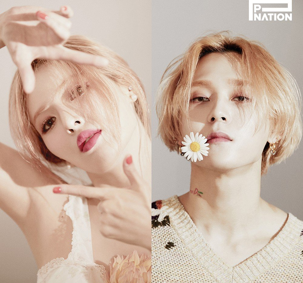 P-Nation confirms HyunA & Dawn (formerly E'Dawn) will release new music simultaneously next month | allkpop
