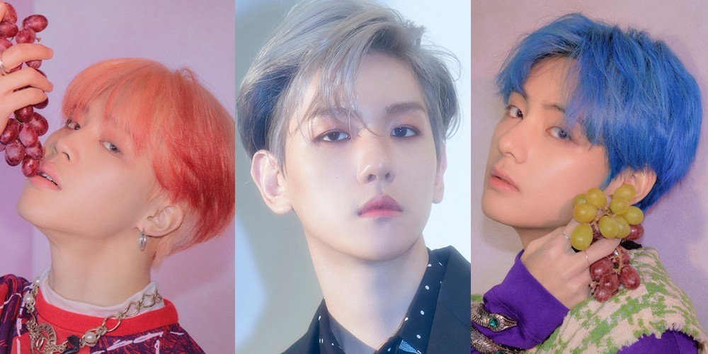Jimin, Baekhyun, & V top individual boy group member brand values for October | allkpop