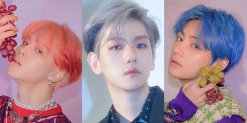 V, Jimin, Baekhyun