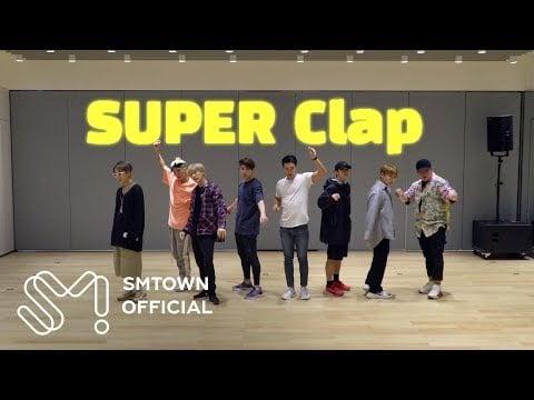 Super Junior reveal 'SUPER Clap' motion graphics dance video | allkpop