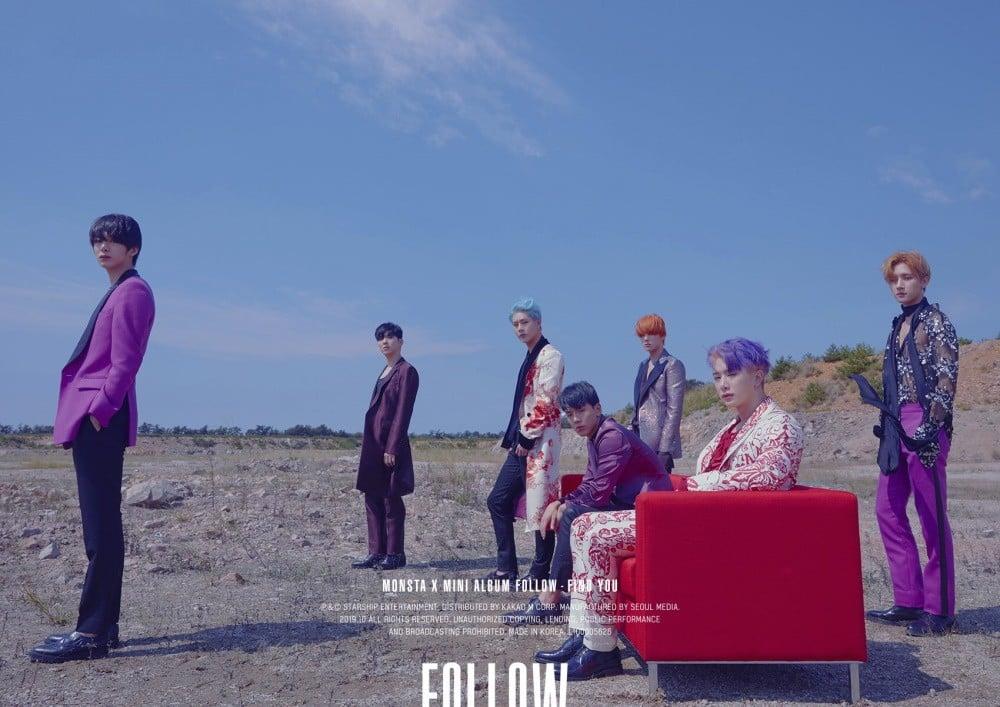 Monsta x reveal more concept teaser images for 39 follow find you 39 allkpop - Follow wallpaper ...