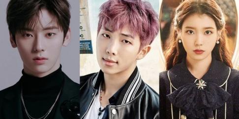 BTS, RM (Rap Monster), IU, NU