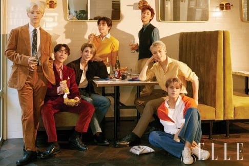 Seventeen, Joshua, Vernon, Seungkwan, Mingyu, Hoshi, The8