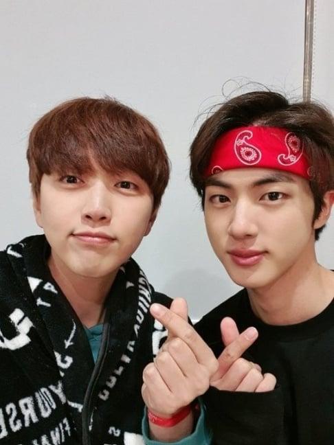 Sandeul, Jin