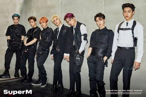 EXO, NCT, WayV, Taemin, SuperM