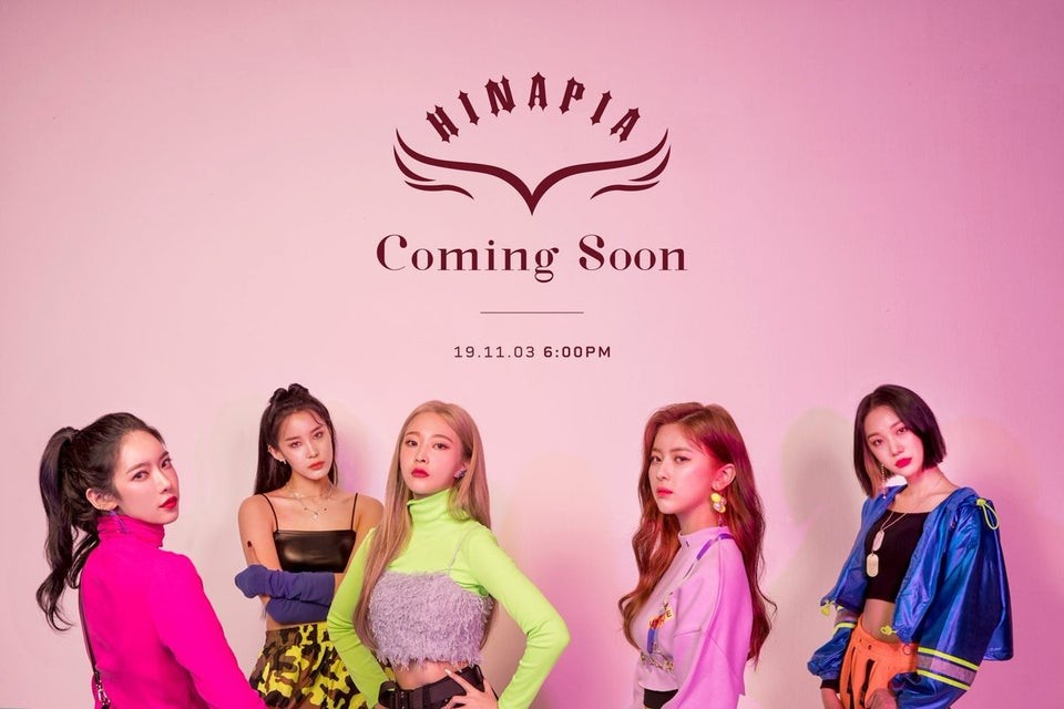 HINAPIA reveals first group concept image before debut | allkpop