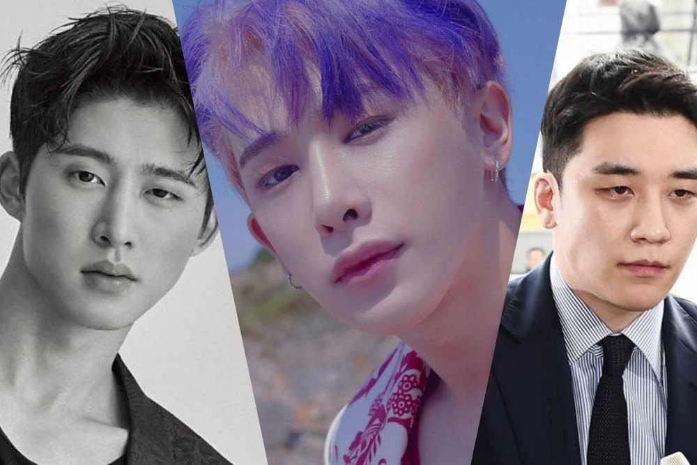 Male idols who left their groups due to scandals in 2019 | allkpop