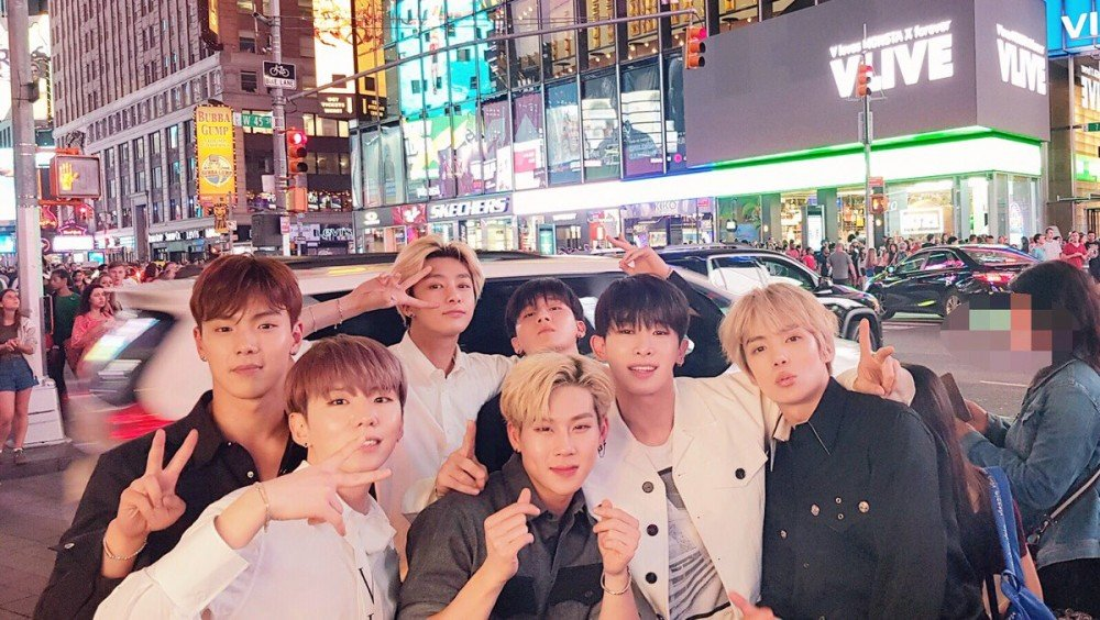 Monbebes raised money to put MONSTA X up in New York's Times Square in under 40 Minutes | allkpop