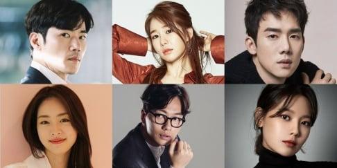 Sooyoung, Lee Dong Hwi, Lee Yeon Hee, Yoo In Na, Yoo Yun Suk