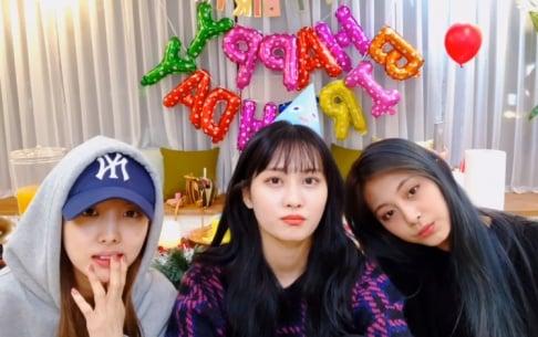 TWICE, Nayeon, Momo, Tzuyu