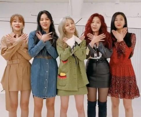 AOA, Seolhyun, Hyejeong, Chanmi, Jimin, Yuna, 100%