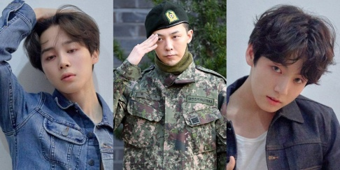 G-Dragon, Jungkook, Jimin