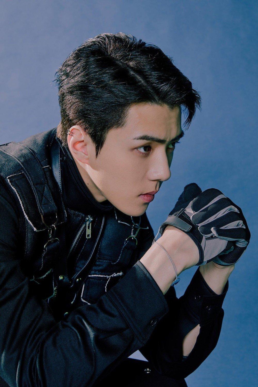 Exo S Sehun Focuses In Black In Bonus Obsession Teaser Image Allkpop