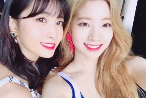 TWICE, Momo, Dahyun