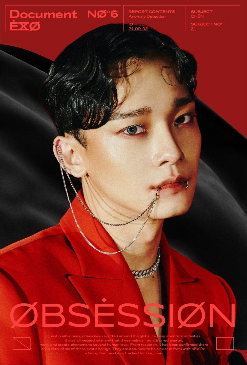 #ObsessedWithCHEN EXO's Chen trending number one worldwide as fans obsess over his 'Obsession' teasers | allkpop