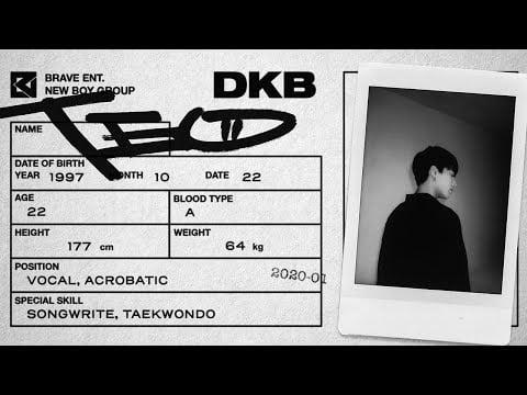 Brave Entertainment's new boy group DKB unveils 7th member Teo, a soulful vocalist | allkpop